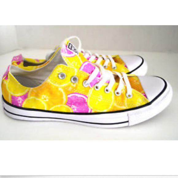 New Converse LEMON Citrus Chuck Taylor Shoe 13